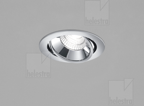 Helestra SID  recessed ceiling luminaire  chrome