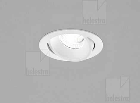 Helestra SID  recessed ceiling luminaire  mat white